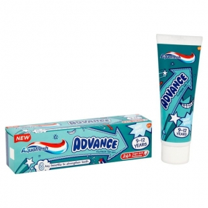 Aquafresh Advance pasta do zębów 9- 12 lat 75ml