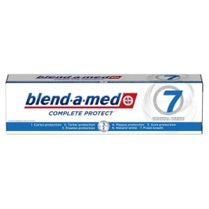 BLENDAMED, pasta do zębów, Complete Protect, 7 Crystal White, 100ml