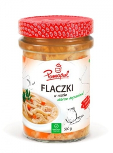 Flaki w rosole Pamapol 500 ml