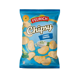 Chipsy o smaku fromage 140 g