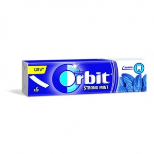 Orbit Strongmint Guma do żucia bez cukru 13 g