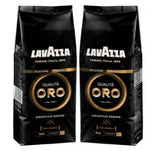 LAVAZZA QUALITÀ ORO MOUNTAIN GROWN KAWA ZIARNISTA 250G